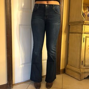 "Lucky Brand ""Olivia Flare"" jeans"